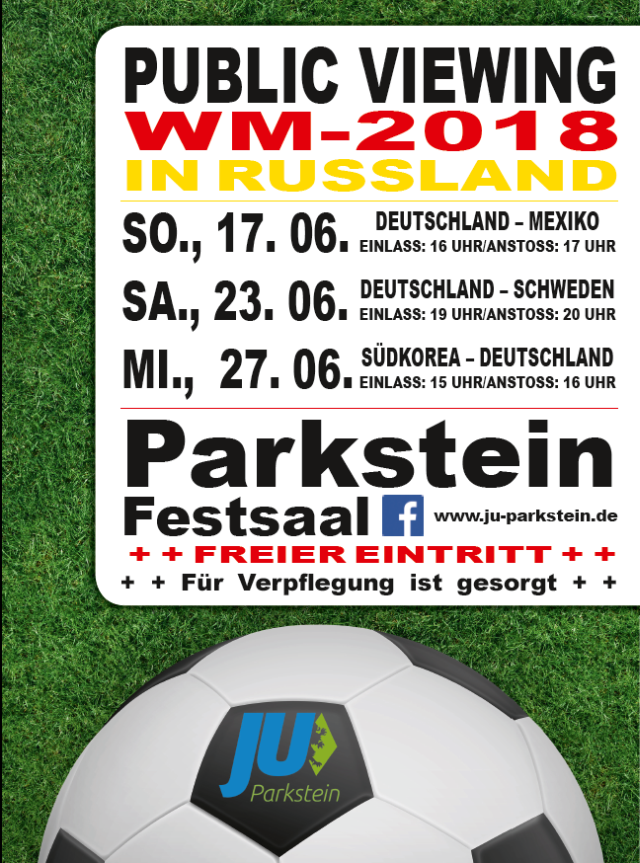 WM 2018 Public Viewing